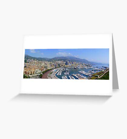Monte Carlo Panorama Greeting Card