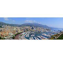 Monte Carlo Panorama Photographic Print
