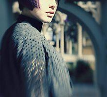 Wolfie - Cemetery Girl by daryldarko
