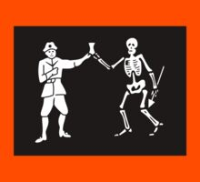 Pirate Flag - Bartholomew Roberts Kids Clothes
