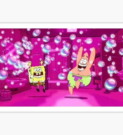 Spongebob and Patrick Sticker