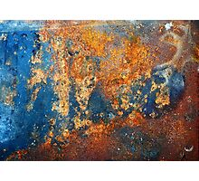 Autumnal Rust Photographic Print