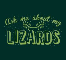 Ask me about my Lizards by jazzydevil