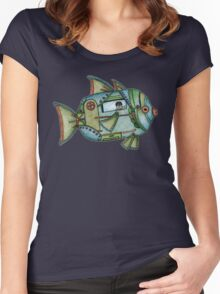 Aqua Gypsy Women's Fitted Scoop T-Shirt