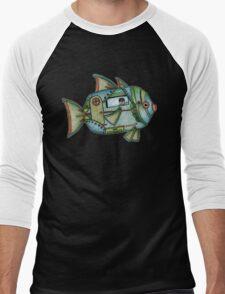 Aqua Gypsy Men's Baseball ¾ T-Shirt