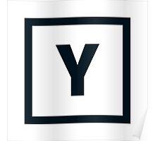 "Alphabet ""Y"" Poster"