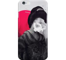 the geisha iPhone Case/Skin