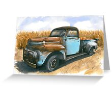Farm Hauler Greeting Card