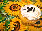 Cupcakes and Sunflowers... by  Janis Zroback