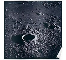 Apollo Archive 0061 Moon Craters from Orbit Poster