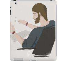 The authors' struggle iPad Case/Skin