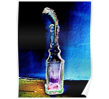Feather in a Bottle Poster