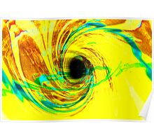 yellow hole Poster