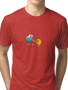Aventure time  Tri-blend T-Shirt