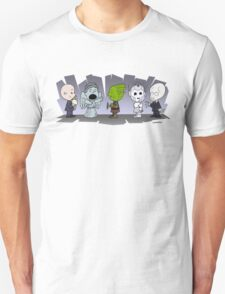 Doctor Who Monsters ... Peanuts Style Unisex T-Shirt