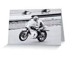 Barry Sheene Greeting Card