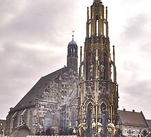 Frauenkirche, Nuremberg by David Davies