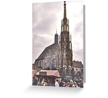 Frauenkirche, Nuremberg Greeting Card