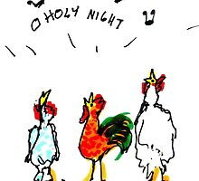 Caroling Chickens by Suzy Woodall