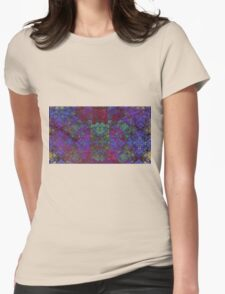 Framed - Abstract fractal Womens Fitted T-Shirt