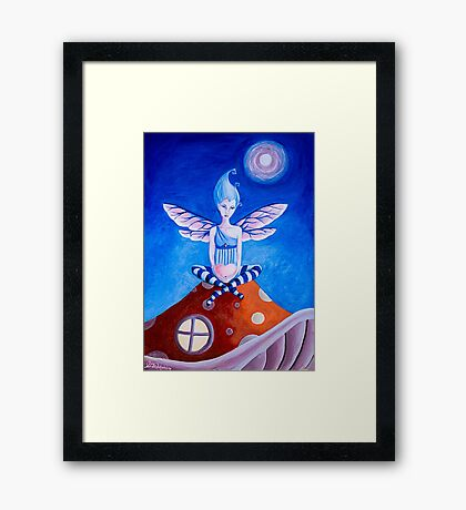 Milly's New Home - Fairy Framed Print