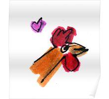 Love Chicken Poster