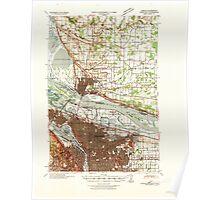 USGS Topo Map Washington Portland 243245 1940 62500 Poster