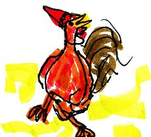 Dancin' Chicken by Suzy Woodall