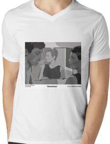 Breathless Mens V-Neck T-Shirt