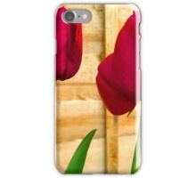 Red Tulips ..  iPhone Case/Skin