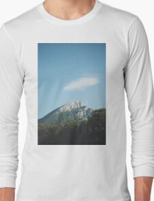 Mountains in the background VIII Long Sleeve T-Shirt