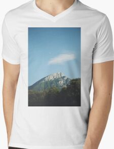 Mountains in the background VIII Mens V-Neck T-Shirt