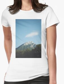 Mountains in the background VIII Womens Fitted T-Shirt