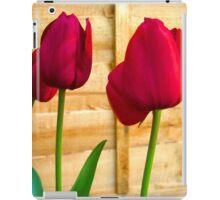 Red Tulips ..  iPad Case/Skin