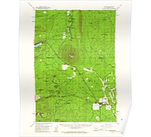 USGS Topo Map Oregon Sisters 282891 1959 62500 Poster
