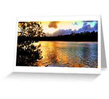 BARNEY'S POINT SUNSET Greeting Card