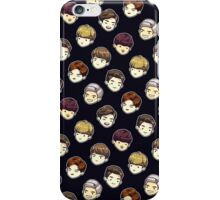 GOT7 cute heads (black) iPhone Case/Skin