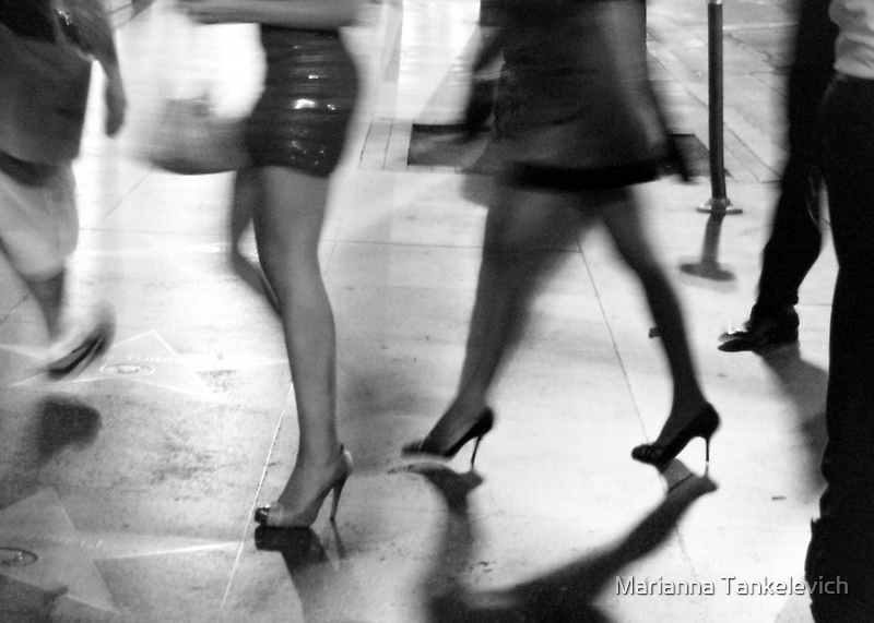 Hollywood Boulevard by Marianna Tankelevich