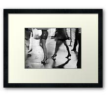 Hollywood Boulevard Framed Print