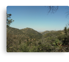 The View of Hesperia From The San Bernardino Mountains Canvas Print