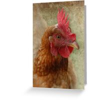 A Happy Chook Greeting Card
