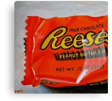 Reese's Peanut Butter Cup Canvas Print