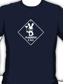 Rabbids in 4km T-Shirt