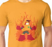 Heat Man Fiery Vector Shirt Unisex T-Shirt
