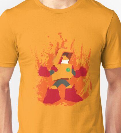Heat Man Fiery Vector Shirt T-Shirt