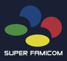 SNES Super Famicom logo by TooManyPixels