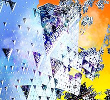 Triforce - Abstract fractal by gr8effect