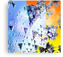 Triforce - Abstract fractal Canvas Print