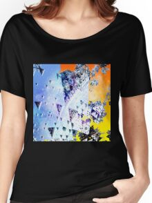 Triforce - Abstract fractal Women's Relaxed Fit T-Shirt