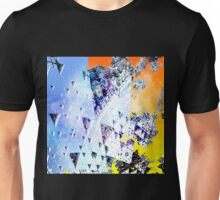 Triforce - Abstract fractal Unisex T-Shirt
